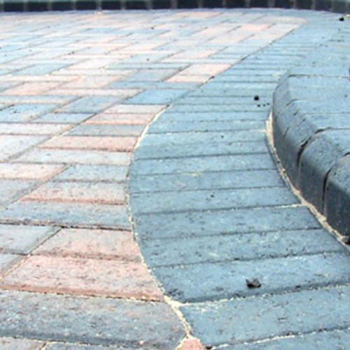 Footpath paving